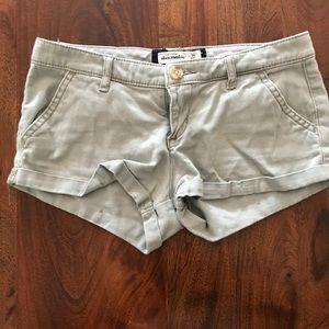 Abercrombie Kids light green shorts